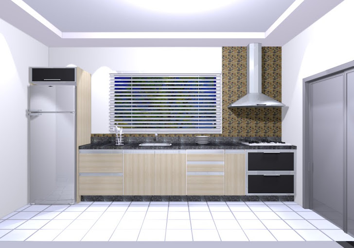 cozinha unilateral
