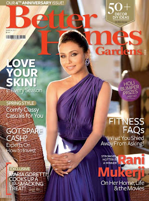 Rani Mukherjee on Better Homes & Gardens