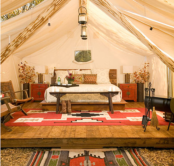 Gl&ing. Forget Roughing It C& In Style. Luxury Tents In Jackson Hole. - if itu0027s hip itu0027s here & Glamping. Forget Roughing It Camp In Style. Luxury Tents In ...