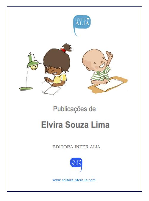PUBLICAÇÕES  DE ELVIRA SOUZA LIMA