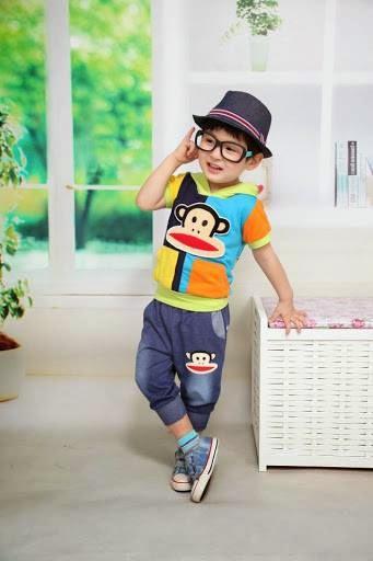 Model baju anak laki laki korea populer