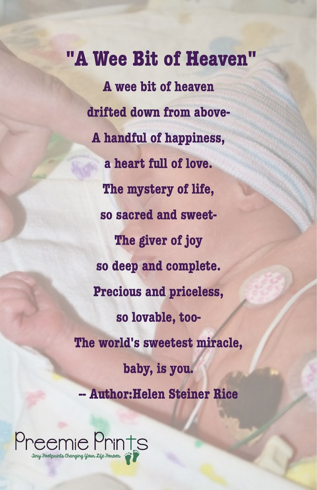Dear Mom Poem Dear nicu nurse.
