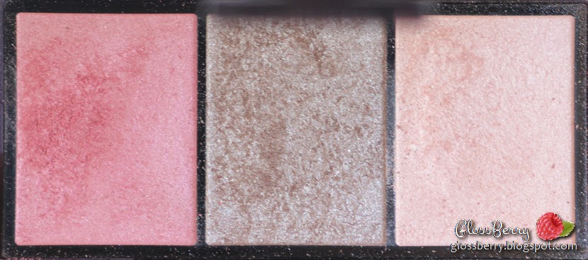 Shiseido - Luminizing Satin Eye Trio - RD711 review swatch beauty blog glossberry שיסיידו שלישיית צלליות סקירה איפוא וטיפוח