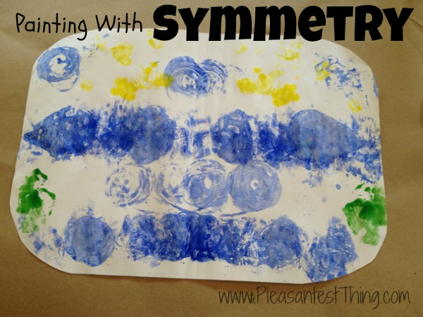 Playing with Symmetry through painting