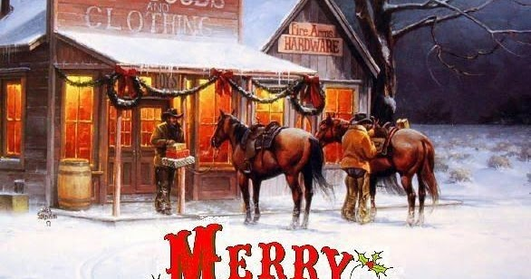 The American Cowboy Chronicles Say Merry Christmas