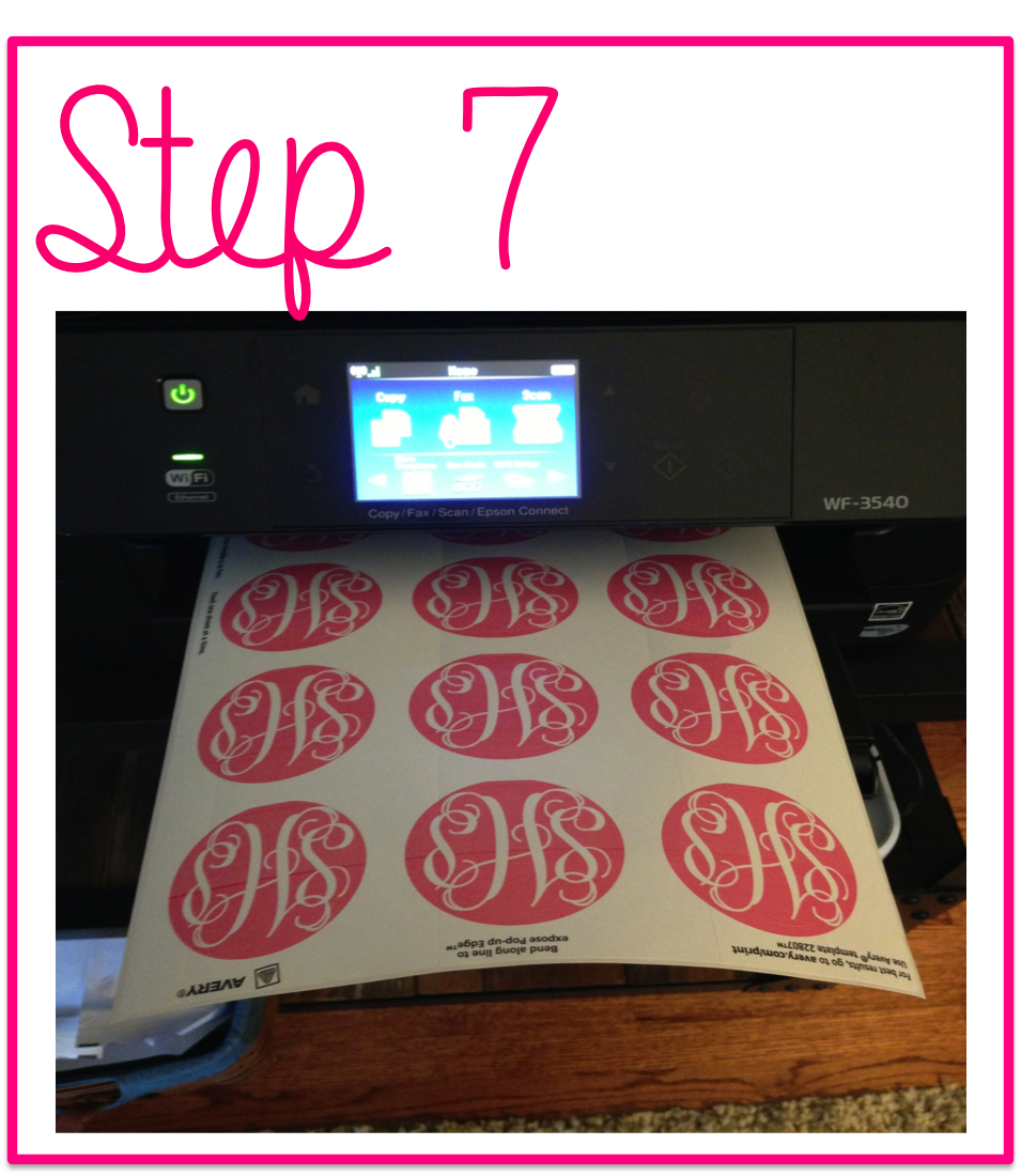 decal monogram machine