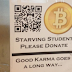 'Starving Student' Uses BART Station QR Code To Panhandle For Bitcoin