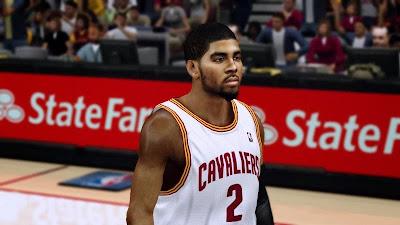 NBA 2K14 Kyrie Irving Cyberface Mod