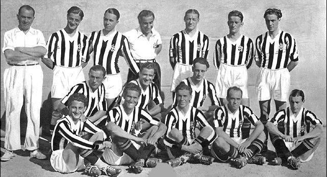 La squadra del primo scudetto (1905)