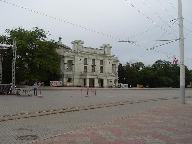 Крым-2015 Евпатория Театр