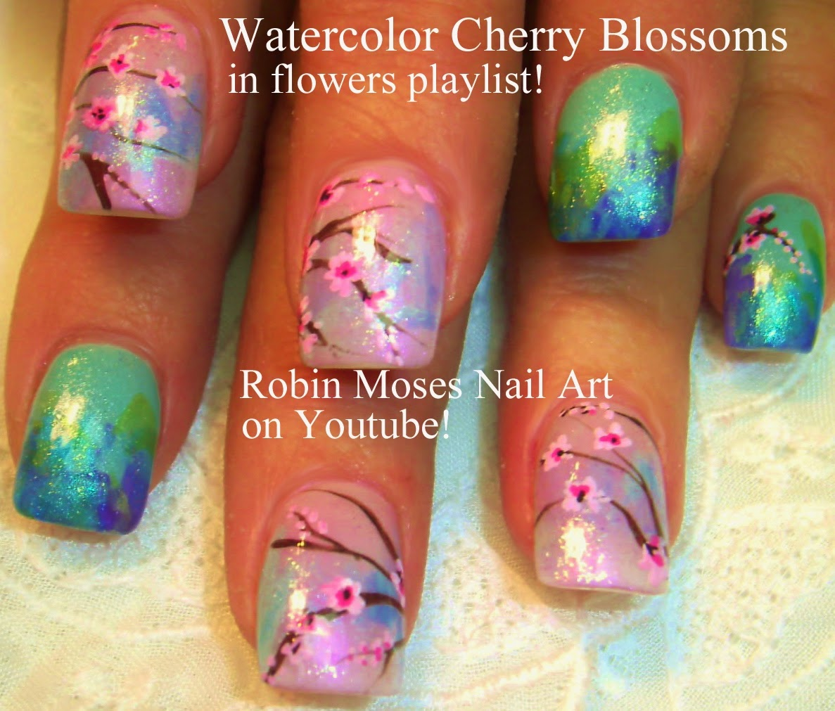 Robin Moses Nail Art Designs: Robin Moses Nail Art: April 2014