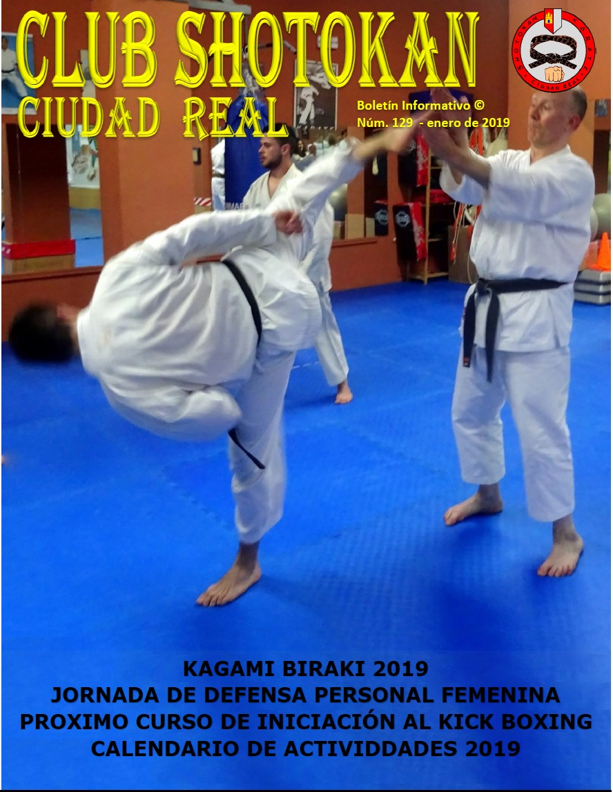 Boletín 129 Club Shotokan