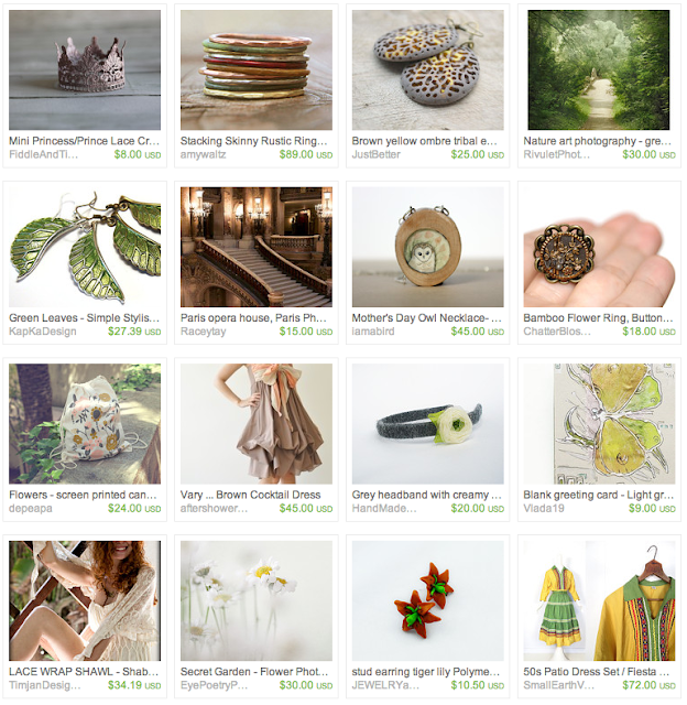 Romantic Summer Giftguide on Etsy
