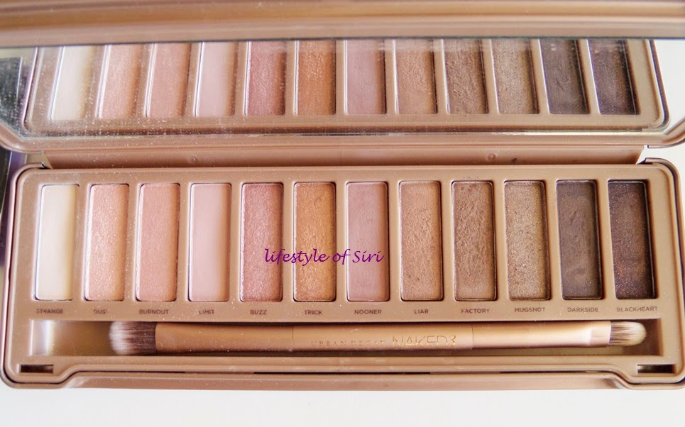 Urban Decay Naked 3 Far Paleti