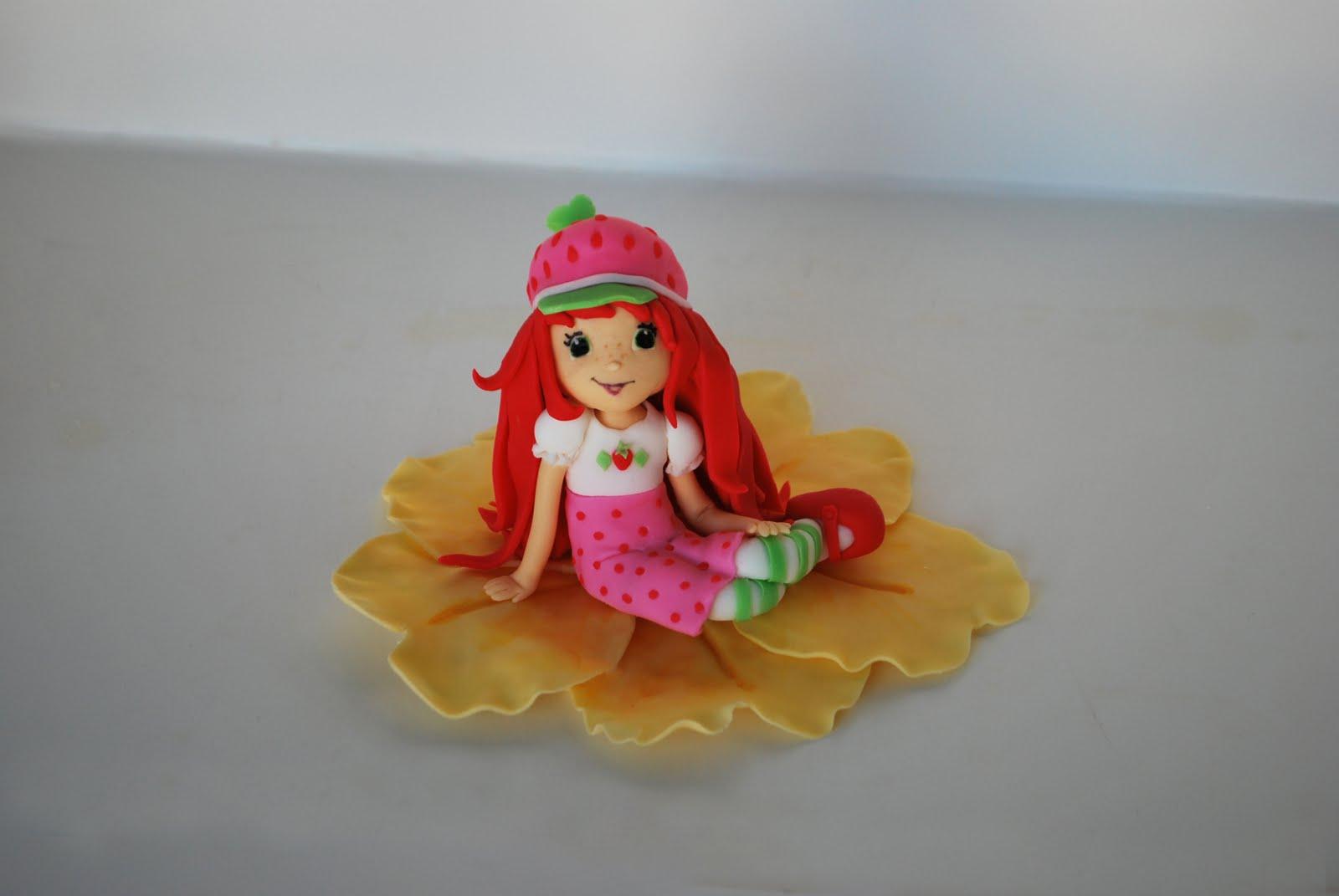 Strawberry Shortcake Cake Topper Uk