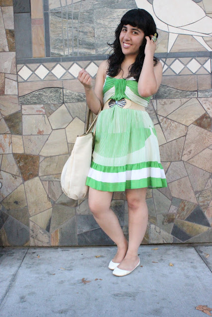 Green Summer Spring Dress
