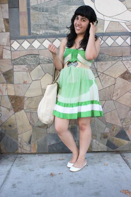 Green Summer Spring Dress