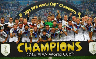 Germany the Champions of the World Cup Brazil 2014