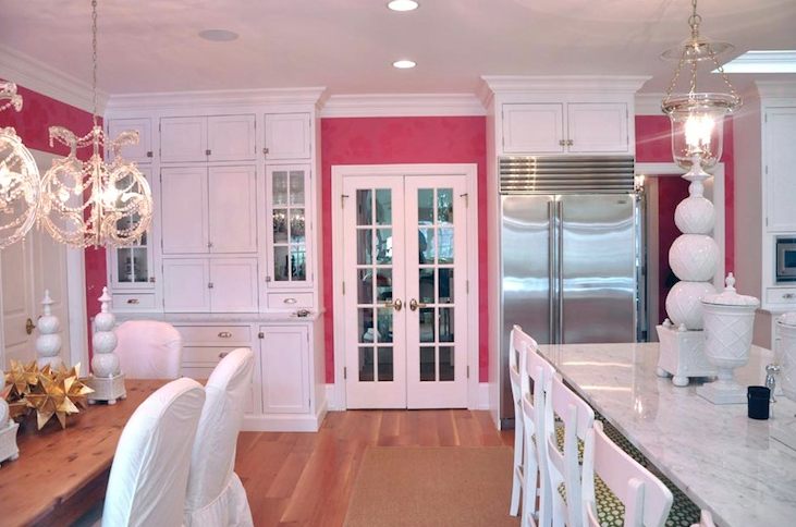 Pink Kitchen Walls kandeej: dreamy pink kitchenspirations