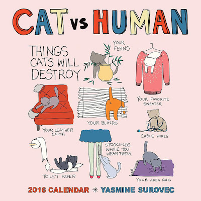 2016 Calendar - Cat vs Human