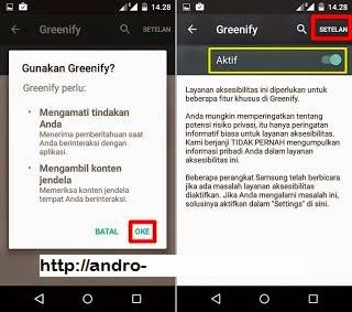 Instal Greenify Tanpa Root