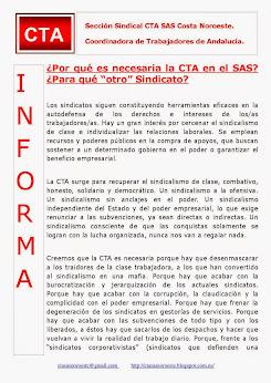 """¿Por qué es necesaria la CTA en el SAS? ¿Para qué """"otro"""" Sindicato?"""