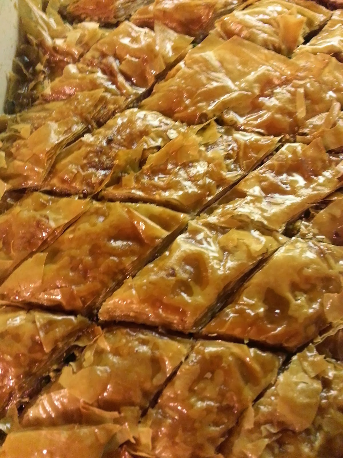 ... Fit For a Kid: Recipe: Pistachio Baklava with Orange Blossom Syrup