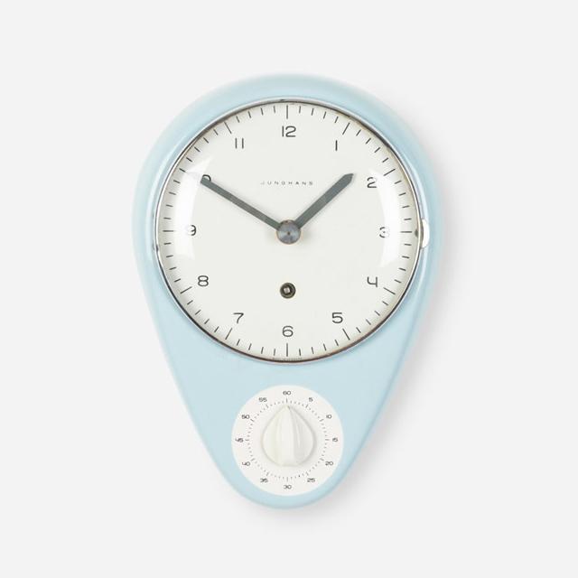 Sensational Twowheels Max Bill Kitchen Clock Download Free Architecture Designs Rallybritishbridgeorg