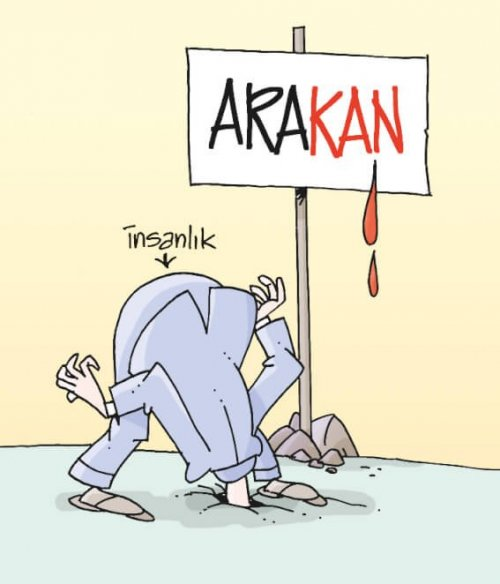 Every day ,hundreds people are murdered in Arakan. The world is ignoring this situation.