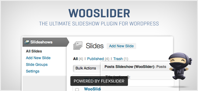 WooSlider - The Ultimate Slideshow Plugin for WordPress v1.0.6