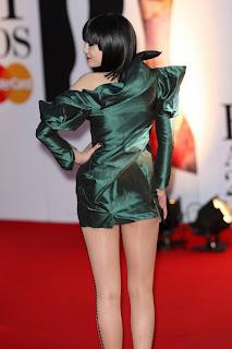 Jessie J at the Brits