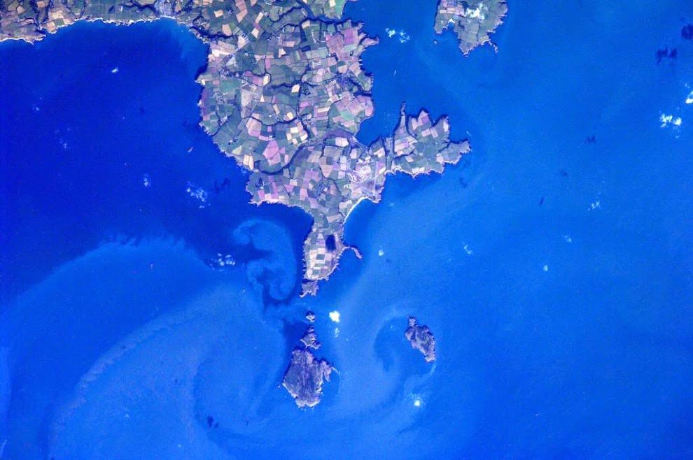 Фото земли с МКС