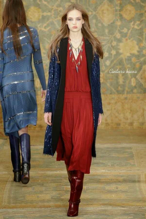 NY Fashion Week 2015 - boho chic