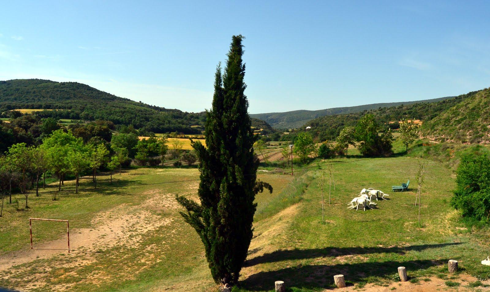 panorámica del valle del farfanya