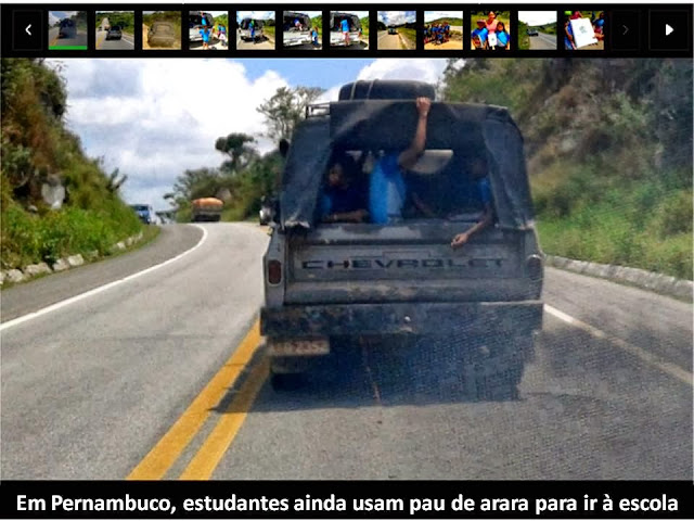 Transporte irregular de estudantes no município é notícia