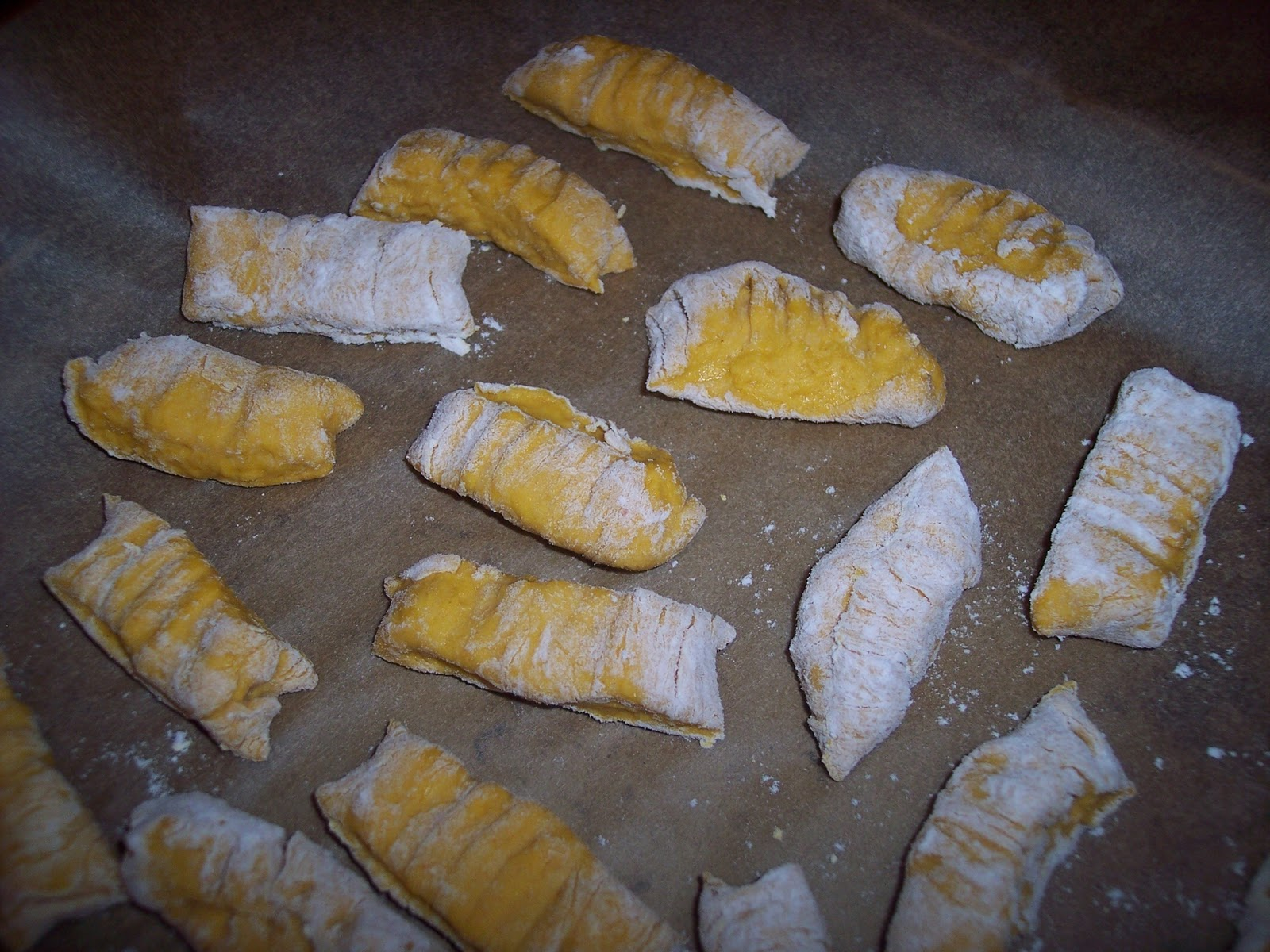 pumpkin gnocchi 1 1 2 cups pumpkin puree 1 large