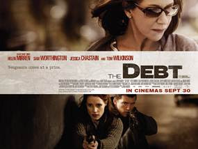The Debt movie quad poster