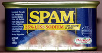 Not too salty spam