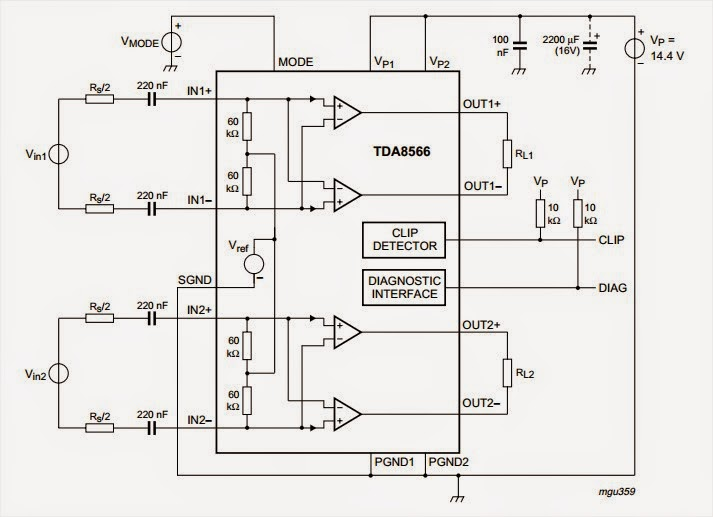 amplifiercircuits com  30w amplifier