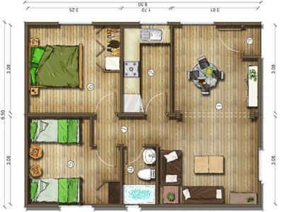 Planos De Casas Modelos Y Dise Os De Casas Plano Casa De