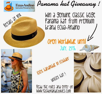ecua-andino giveaway on Fashion and Cookies, $60 hat, Fashion and Cookies