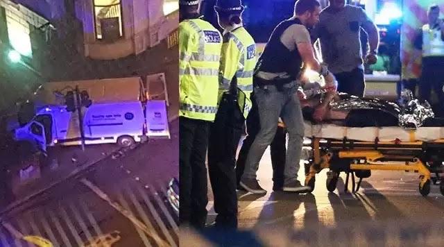 Τριπλή τρομοκρατική επίθεση ισλαμιστών με φορτηγό και μαχαίρια στο Λονδίνο - 6 Νεκροί και δεκάδες τραυματίες