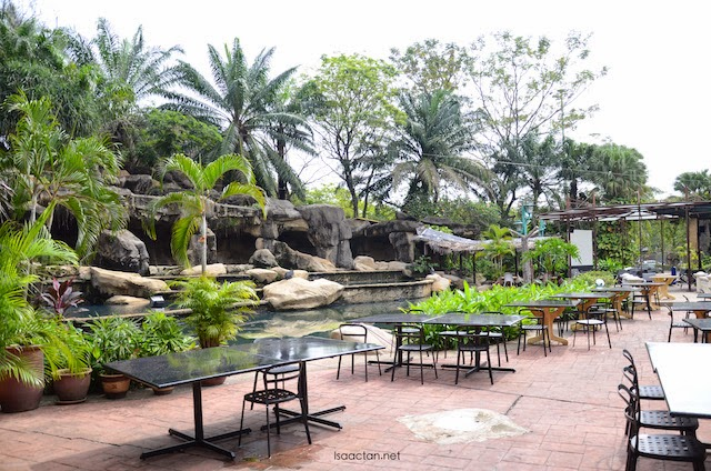 Pretty outdoor setting of Marhaba Restaurant Sunway