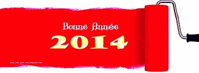 Message Bonne année 2014