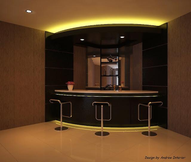 Andrew Interior: Contoh Design Mini Bar