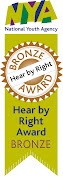 We are the biggest organisation EVER to win the Hear By Right award for Participation!
