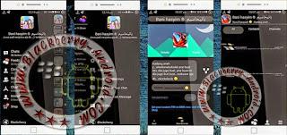 BBM MOD Thema BlackCherry Apk Versi 2.8.0.21