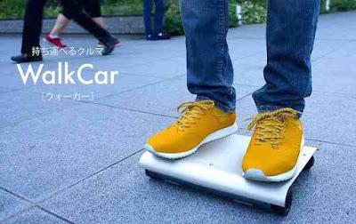 Μετακινηθείτε εύκολα και γρήγορα με το WalkCar