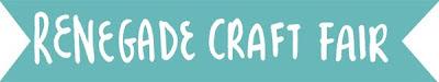 Renegade Craft Fair this weekend at Fort Mason in San Francisco