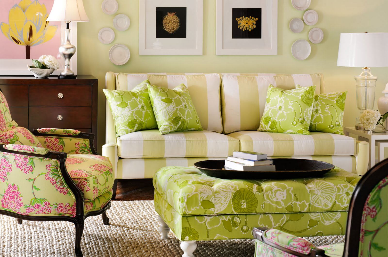 Avoiding A Quarter-Life Crisis: Lilly Pulitzer Furniture